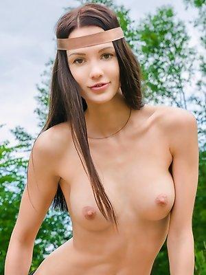 Amazing busty chick